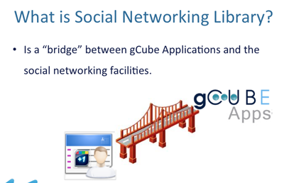 Figure 1. Social Networking Library in a very nutshell